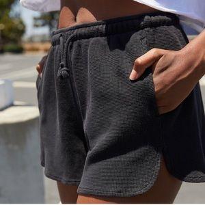 Brandy Melville waffle shorts